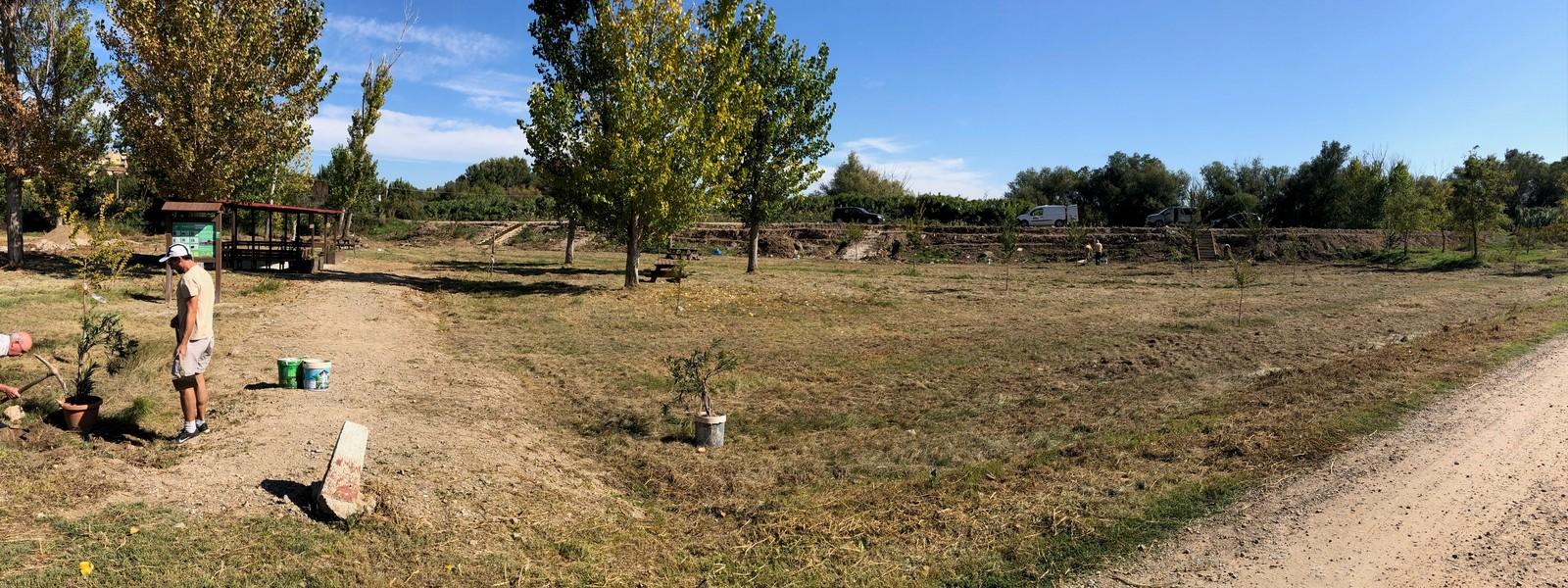 Parque Erasmus en El Sotillo